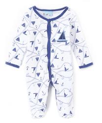 Case of [24] Baby Sleep 'N Play Pajamas - Sailboat