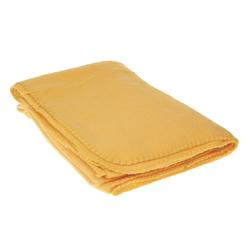 "Case of [20] TrailWorthy Fleece Blanket & Storage Bag 45"" x 60"" - Gold"
