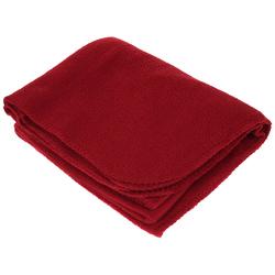 "Case of [20] TrailWorthy Fleece Blanket & Storage Bag 45"" x 60"" - Burgundy"