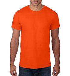 Case of [12] Anvil - Slightly Irregular Adult Lightweight T-Shirt - Orange - Large