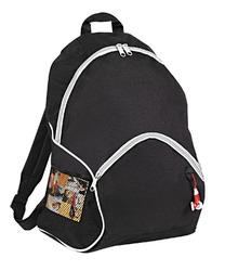 "Case of [25] 16"" Classic Black Backpack - 2 Side Mesh Pockets"