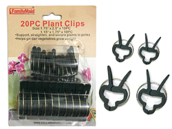 Case of [24] Plant Clips - 20 Piece