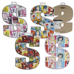"""Case of [4] """"S"""" Die Cut Letter Sign - Assorted"""
