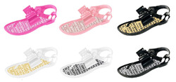 Case of [36] Toddler Girl's Sandal with Bow - Assorted