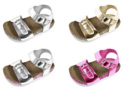 Case of [36] Toddler Girl's Glitter Metallic Sandal - Assorted