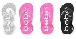 Case of [36] Toddler Girl's Multi Glitter EVA Sandal - Assorted