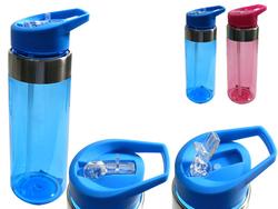 Case of [12] 24 oz. Plastic Sport Water Bottle