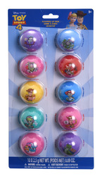 Case of [144] Disney Pixar Toy Story Round Lip Balm - 10 Piece