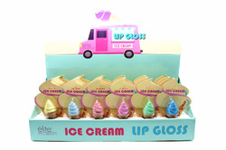 Case of [24] Elite Pro Beauty Ice Cream Lip Gloss - Assorted