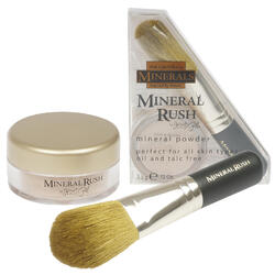 Case of [144] Jesse's Girl Mineral Rush Powder & Brush - 0.12 oz, Medium