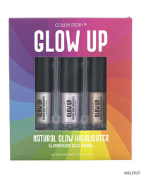 Case of [48] Color Story Glow Up Highlighters - 3 Piece