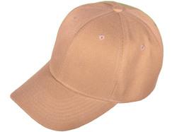 Category: Dropship Apparel, SKU #2340425, Title: Case of [36] Solid Baseball Cap - Khaki