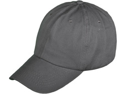 Category: Dropship Apparel, SKU #2340426, Title: Case of [36] Solid Baseball Cap - Dark Grey