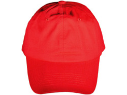 Category: Dropship Apparel, SKU #2340427, Title: Case of [36] Solid Baseball Cap - Red