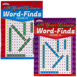 Case of [24] At Your Leisure Word Find Puzzle Book