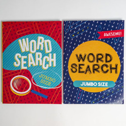 Case of [24] Jumbo Size Word Search Puzzle Book - Assorted Volumes