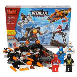 Case of [6] 323 Piece Ninja Squad Building Playset