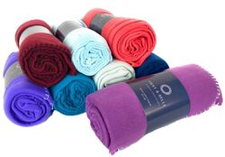 "Case of [24] Polar Fleece Blankets - 50"" x 60"" - Assorted Colors & Weights"