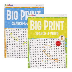 Case of [24] Big Print Word Search-A-Word
