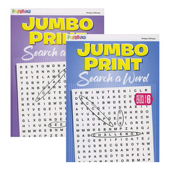 Case of [24] Jumbo Print Search-A-Word