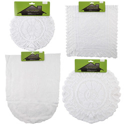 Case of [48] Lace Doily & Runner