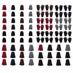 Case of [72] 72-Pack Gloves, Scarves, and Beanies