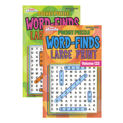 Case of [24] KAPPA Pocket Puzzle Word Finds Large Print