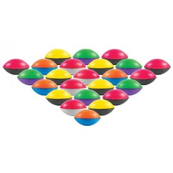 Category: Dropship Toys And Games, SKU #2353479, Title: Case of [24] Foam Footballs in Assorted Colors