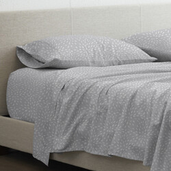 Case of [6] Abstract Firework Patterned Sheet Set - Full, 4 Piece