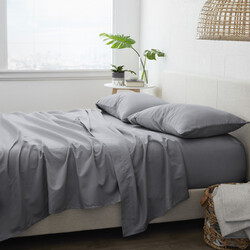 Case of [6] Sheet Set - Grey, Twin XL, 4 Piece
