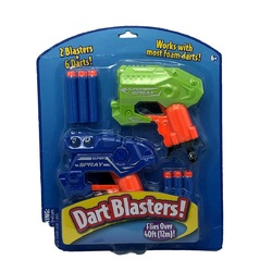 Category: Dropship Toys And Games, SKU #2354935, Title: Case of [36] Foam Dart Shooters, 2-Pack