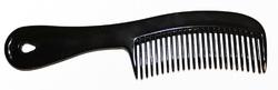 Case of [720] Freshscent Handle Hair Comb - Black