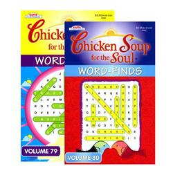 Case of [24] KAPPA Chicken Soup For The Soul Word Finds Puzzle Book - Digest Size