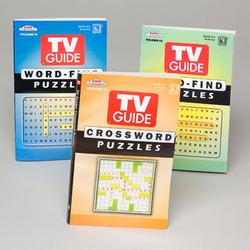 Case of [144] Puzzle Books - TV Guide
