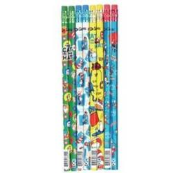 Case of [144] Dr. Seuss? Cat in the Hat Pencil