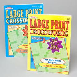 Case of [120] Large Print Crossword Puzzle