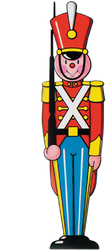 Case of [24] Toy Soldier Cutout