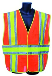 Case of [10] Orange Class II Safety Vest Small