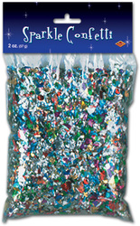 Case of [50] Packaged Sparkle Confetti