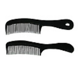 "Case of [720] 6.5"" Black Handle Comb"
