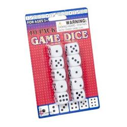 Case of [72] 10 Pack of Game Dice