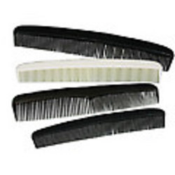 """Case of [1440] 7"""" Black Hair Comb"""