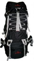 "Case of [1] 600D Rip-Stop Poly Mountain Bag w/Rain Cover 31""x15""x9"", Black"