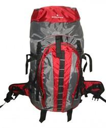 "Case of [10] Hiking Backpack w/Internal Frame, 25.5""x17.5""x6"", Maroon/Grey"