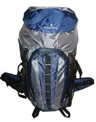 "Case of [10] Hiking Backpack w/Internal Frame, 25.5""x17.5""x6"", Navy/Grey"