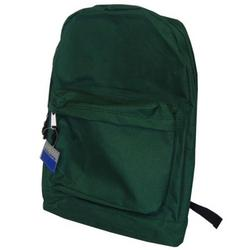 "Case of [36] 18"" Basic Backpack - Green"