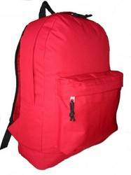 "Case of [30] 18"" Basic Backpack - Red"