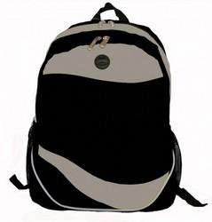 "Case of [30] 17"" Classic Multi-Pocket Backpack - Black"