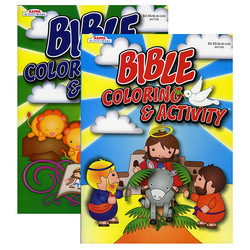 Case of [48] Bible Stories Giant Coloring Book