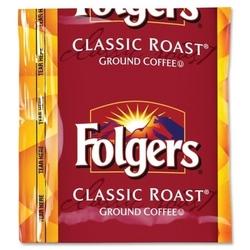 Case of [1] Folgers Coffee Classic Roast, Regular, 1.5 oz., 42BG/CT
